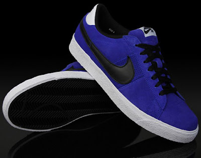 new product 3db81 90cb6 This weeks Nike is the Blazer Low SB Varsity Royal Black. I digg these low  top Blazers as much as the high tops, and the color scheme is complimentary  to ...