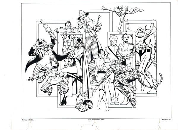 The Dork Review: DC Style Guide Part 10: Batman Villains