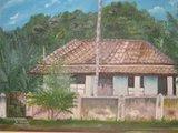 Primeira Residência Construída em Alvenaria, na Cidade de Brasilândia-MG, no Início dos Anos 1900.