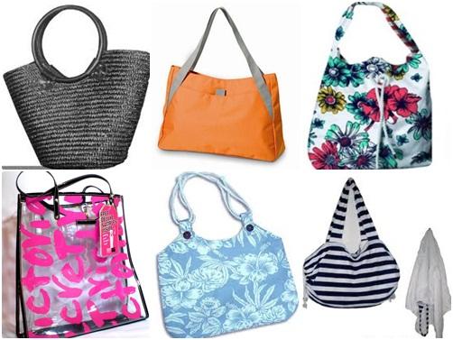 3cfc77c29 Hoje em dia se encontra vários modelos de bolsa de praia para cada estilo  de mulher pois as bolsas incrementam o visual. Eu particularmente prefiro  bolsas ...