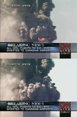 Hundimiento del bloque superior al inicio del colapso