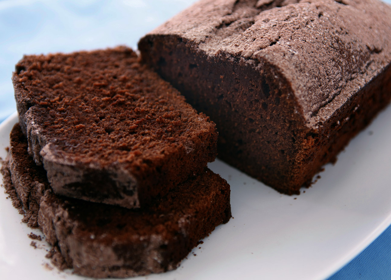 Chocolate Pound Cake With Chips