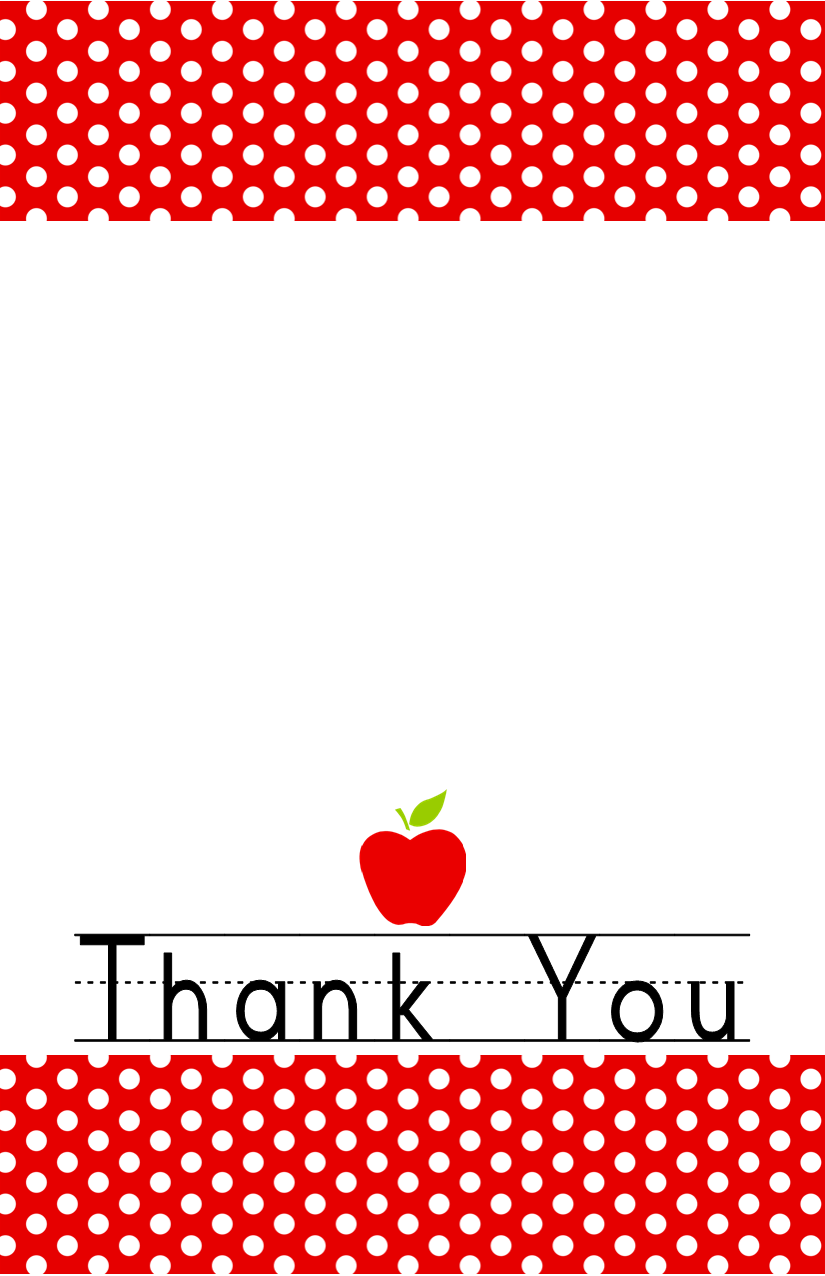 image regarding Thank You Teacher Free Printable referred to as Free of charge Down load: Instructor Appreciation 7 days Could 3-7 - Dimple Prints