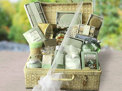 Tea Spa Gift Basket
