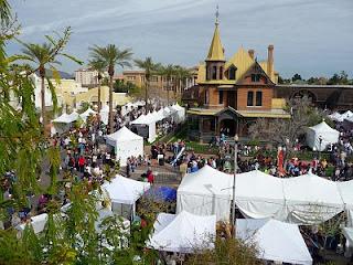 Overlooking the Arizona Matsuri Festival