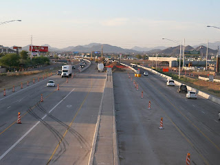 ADOT Construction Progress on Interstate 17