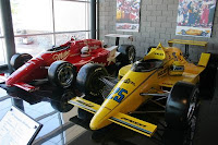 Formula One Cars in Penske Racing Collection