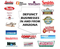 Defunct Businesses of Phoenix, Arizona