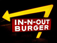 In-N-Out Burger sign in Phoenix, Arizona