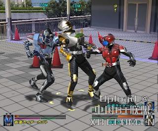 Kamen Rider Kabuto (PS2) 2006