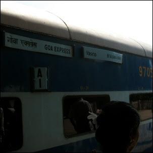 Goa express - Juna Goasta Delhiin