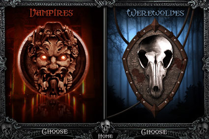 Werewolves Vs Vampires Game