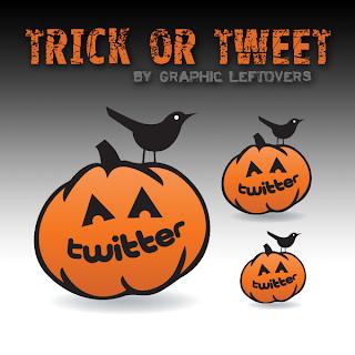 twitter, icones, halloween