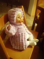 Babykofta+mössa
