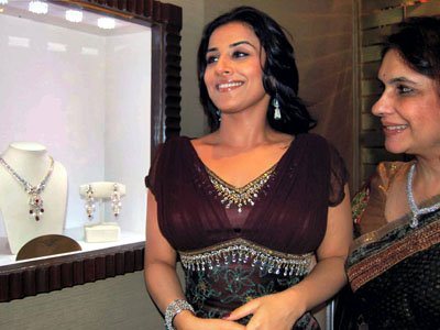 vivacious vidya balan at diamond jewellery launch glamour  images