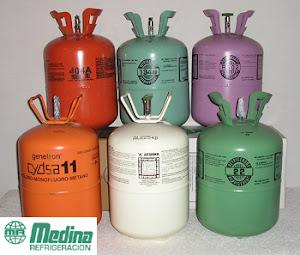 Diferentes colores de los cilindors