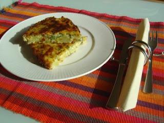 Patatesli frittata italyan usulu patatesli omlet