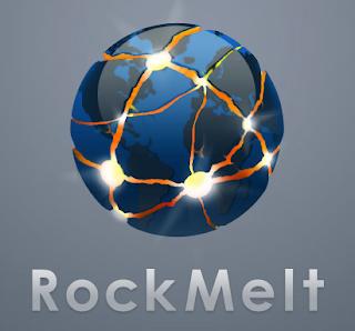 Navegador RockMelt para redes sociales. Análisis de ventajas y desventajas de esta primera versión Beta. El post incluye vídeo de la versión.