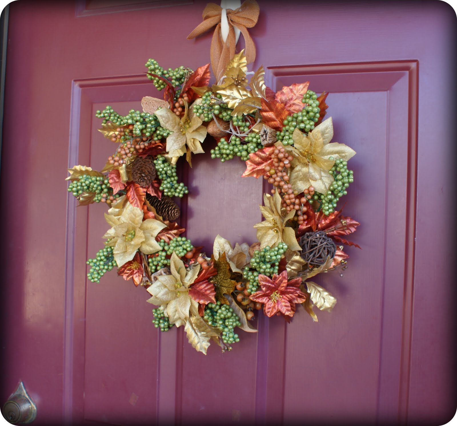DIY Fall Wreath Tutorial; Dollar Tree Supplies Only
