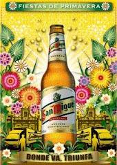 Poster para la cerveza San Miguel, España 2005