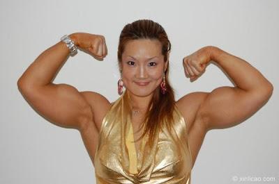 Female Fitness, Figure and Bodybuilder Competitors: Xin Li