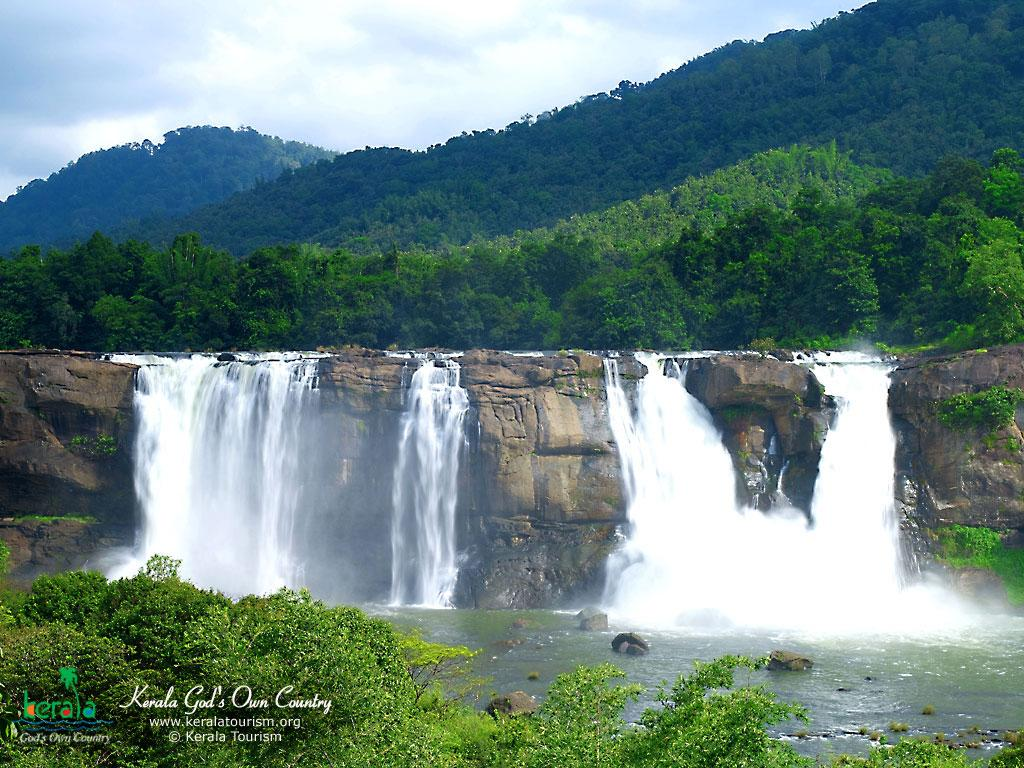 Athirapally Falls Wallpapers Gracias Amigo Kerala Gods Own Country