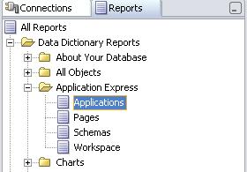 sqldeveloper apex reports