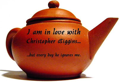 I am in love with Christopher Biggins... but every day he ignores me.