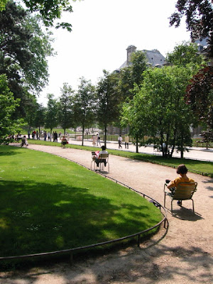 Travel with terry paris jardin du luxembourg in detail for Jardin pronunciation