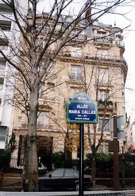 Travel with terry paris maria callas in paris - Avenue georges mandel ...