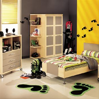 kid's bedroom interior
