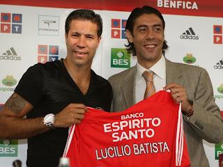 O novo ponta de lança do Benfica