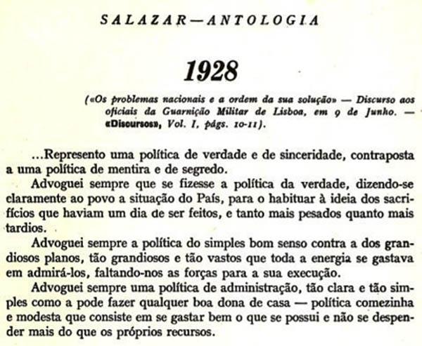 A politica da verdade de Ferreira Leite