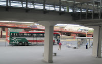 Malaga airport bus station linked with  Granda Bus Station