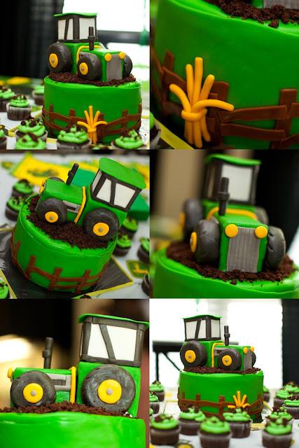 Outstanding Karas Party Ideas John Deere Tractor Birthday Party Karas Funny Birthday Cards Online Amentibdeldamsfinfo