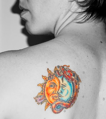 Tattoo 3 Star And A Sun