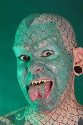 full budy reptile tattoo