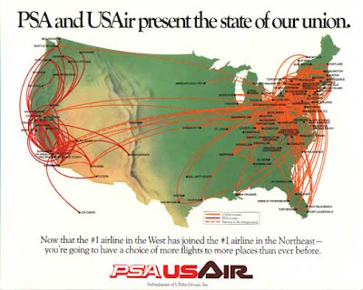 Airline Timetables August - Southwest flight map us