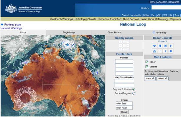 Map Of Australia Radar.What Is Causing Australia S Bizarre Weather Strange Rings Appeared