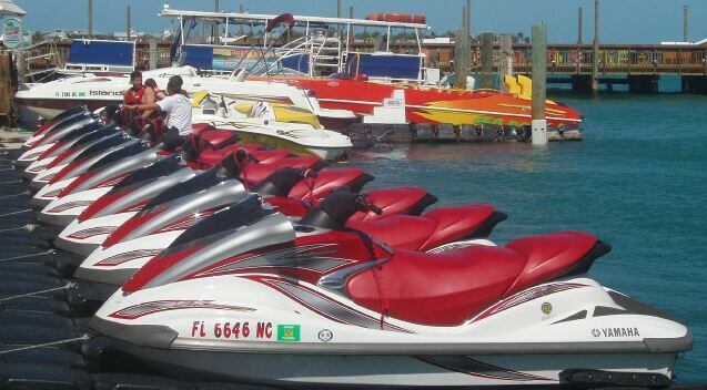 Key West Jet Ski Information 305-942-1956 or 305-619-3618