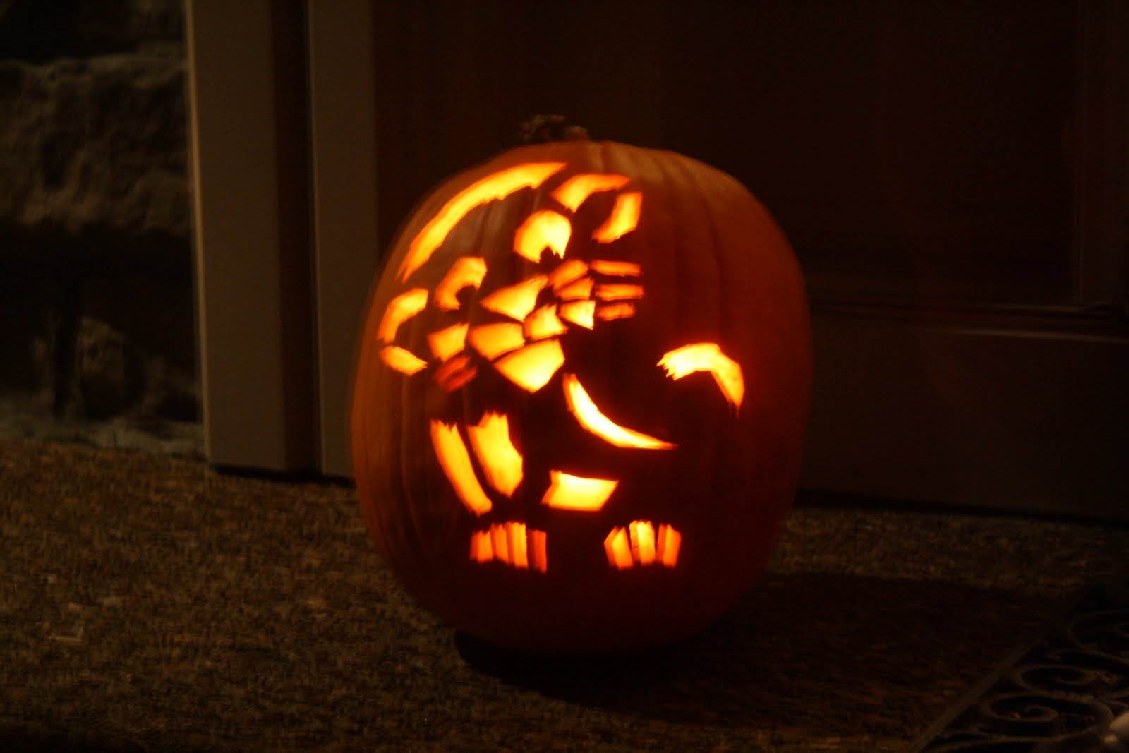 Lion King Pumpkin She also REALLY liked handing