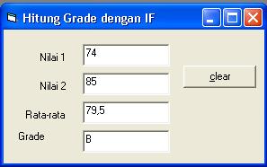 menghitung ipk vb6 text box
