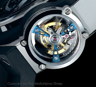 CAD SCHMAD - Finally, A Real Photo of the Concord C1 Vertical Tourbillon Gravity