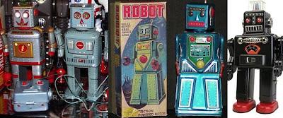 Domo arigato, Mr. Roboto - The Vintage Tin Robot Inspired