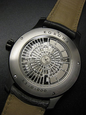 Fly Me To the Moonphase - Sarpaneva's Sculptural Slices of Cheese - The Korona K3 (& K2)
