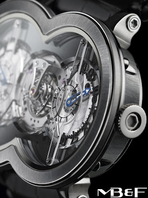 MB&F introduces Limited Edition Titanium Horological Machine No.1 - The HM1 Ti