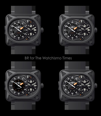 First Look!  Bell & Ross BR Instrument Grand Minuteur & Minuteur Tourbillon