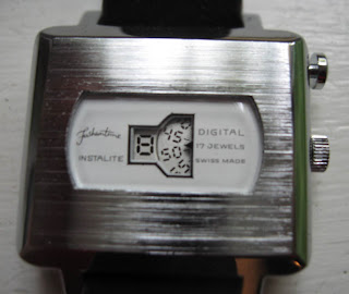 Faux-Electronic Mechanical Digital Watches