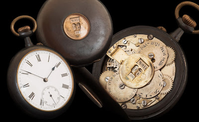 Watchismo's Timewarp - Max Büsser's 19th Century Steel & Gunmetal Pocket Watch Collection