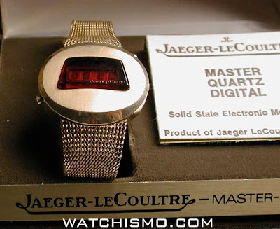 The Jaeger LeCoultre Wrist Discotheque of 1975